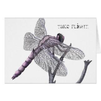 Dragonfly (Take flight.) Card