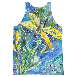 Dragonfly tank top