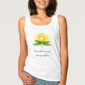 Dragonfly Tank Tops | Sunshine and Dragonflies