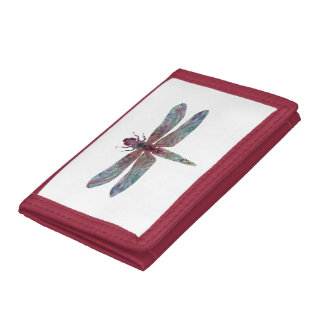 Dragonfly Trifold Wallets