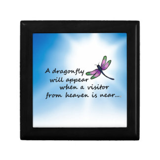 Dragonfly, Visitor from Heaven Gift Box