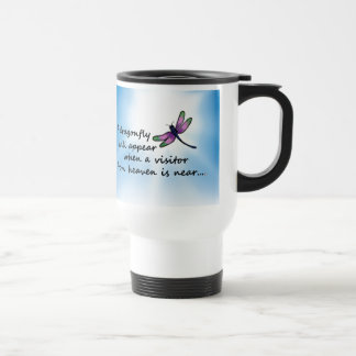 Dragonfly, Visitor from Heaven Travel Mug