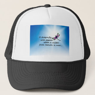 Dragonfly, Visitor from Heaven Trucker Hat