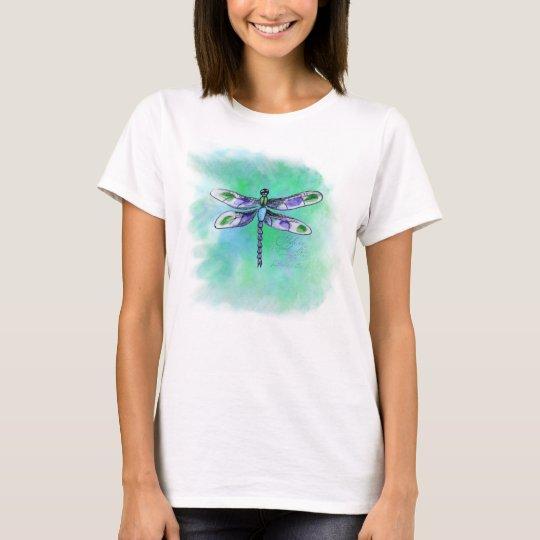 Dragonfly Watercolor Shirt