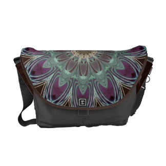 Dragonfly Wings Clock Messenger Bags