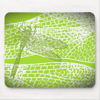 Dragonfly Wings Mouse Pad