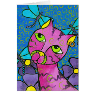 DragonflyCat Card
