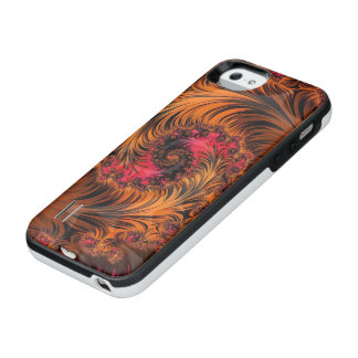 Dragonglass Forge, a Spiral of Fire and Obsidian iPhone SE/5/5s Battery Case