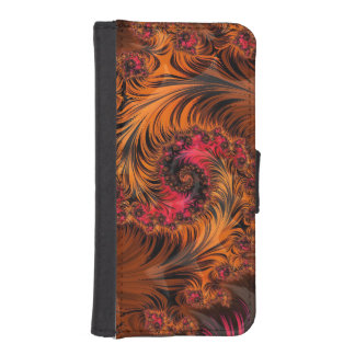 Dragonglass Forge, a Spiral of Fire and Obsidian iPhone SE/5/5s Wallet Case
