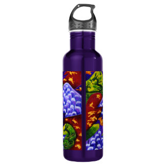 Dragonland - Green Dragons & Blue Ice Mountains 710 Ml Water Bottle