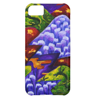 Dragonland - Green Dragons & Blue Ice Mountains iPhone 5C Case