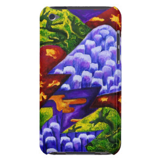 Dragonland - Green Dragons & Blue Ice Mountains iPod Touch Case-Mate Case