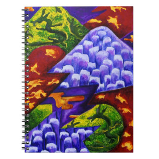 Dragonland - Green Dragons & Blue Ice Mountains Notebooks