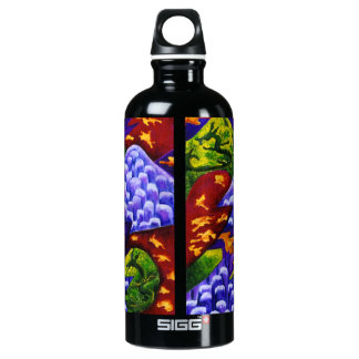 Dragonland - Green Dragons & Blue Ice Mountains SIGG Traveller 0.6L Water Bottle