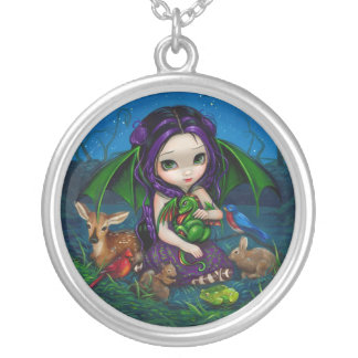 Dragonling Garden 3 NECKLACE dragon fairy animals