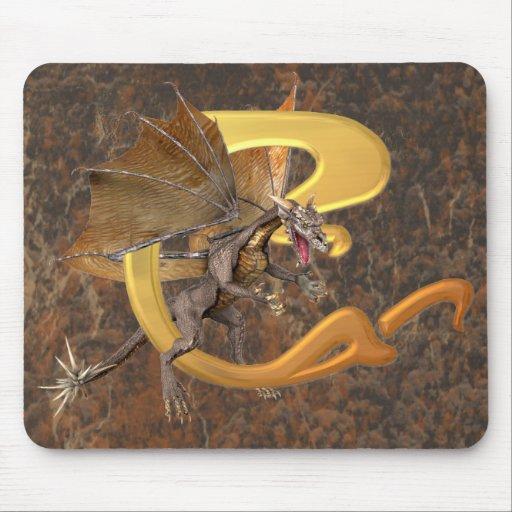 Dragonlore Initial C Mouse Mats