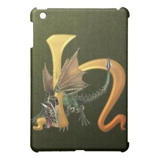 Dragonlore Initial H iPad Mini Case