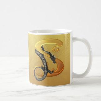 Dragonlore Initial S Coffee Mug
