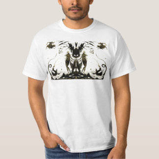 Dragons and Nudes Art Silhouette T-shirt