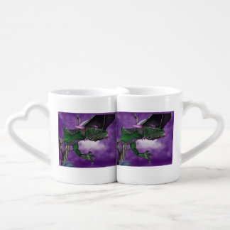 Dragons Couples' Coffee Mug Set