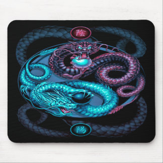 dragons design mousepad