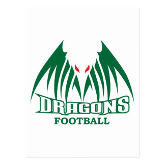 DRAGONS FOOTBALL POSTCARD