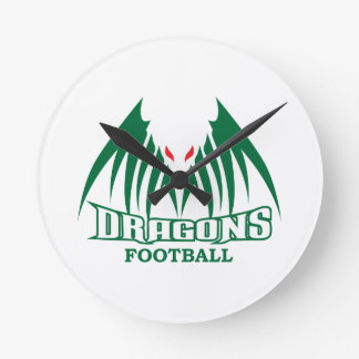 DRAGONS FOOTBALL WALLCLOCK