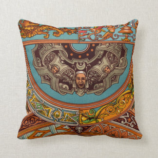 Dragons & Gargoyles Throw Pillow