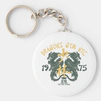 Dragons Gym Basic Round Button Key Ring