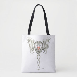 Dragons in Love (tote bag) Tote Bag