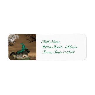 Dragons Lair  Mailing Label Return Address Label