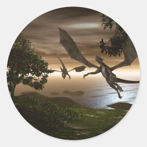 Dragons Lake Sticker