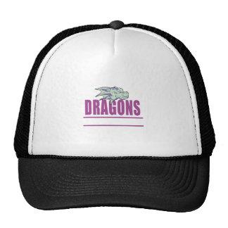 DRAGONS MASCOT HATS