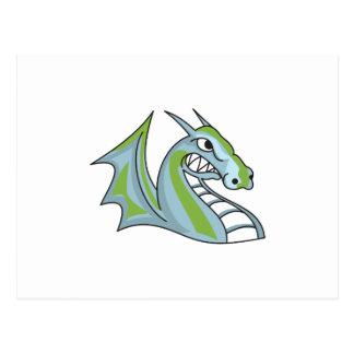 Dragons Mascot Postcard