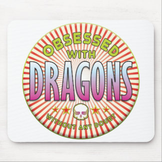 Dragons Obsessed R Mousepad