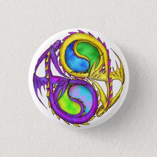 Dragons of the Harmony 3 Cm Round Badge