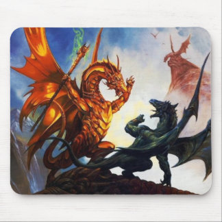 Dragons On A Mouse Pad