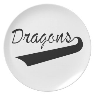 Dragons Party Plates