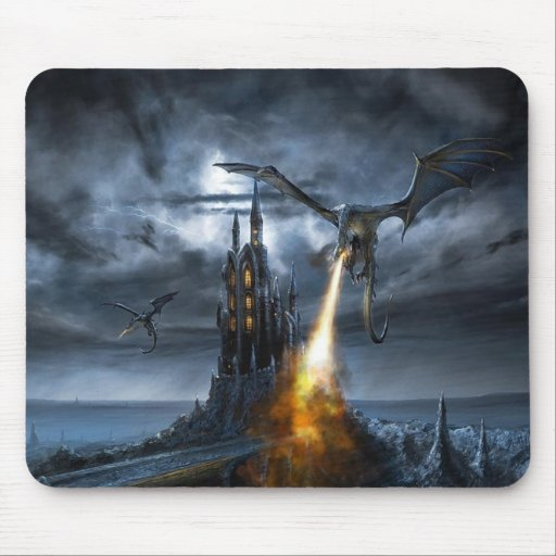 Dragons Revenge Mouse Pad