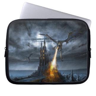 """Dragons Revenge - Neoprene Lap Top Sleeve 10"""" Laptop Sleeve"""