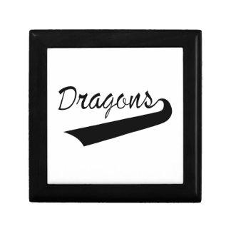 Dragons Small Square Gift Box