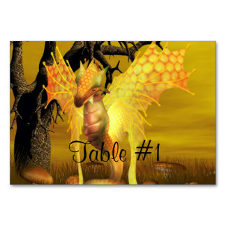 Dragons Table Cards