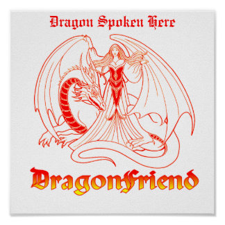 Dragons Welcome Poster