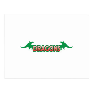 DRAGONS WINGS POSTCARD