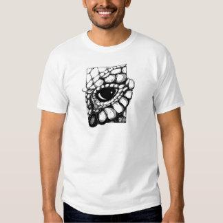 DragonseyeBW.jpg T-shirts