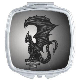 Dragonstatue Compact Mirror