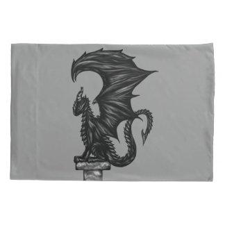 Dragonstatue Pillowcase