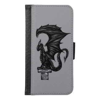 Dragonstatue Samsung Galaxy S6 Wallet Case