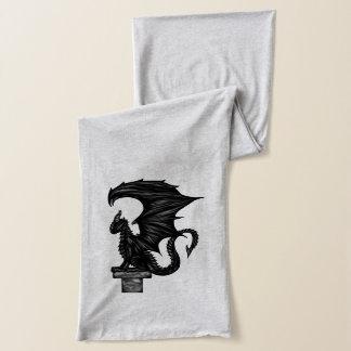 Dragonstatue Scarf