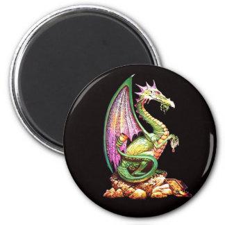 dragoon 6 cm round magnet